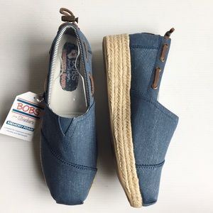 BOBS from Skerchers Highlights Wedge Espadrilles